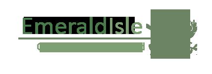 Emerald Isle seaweed logo
