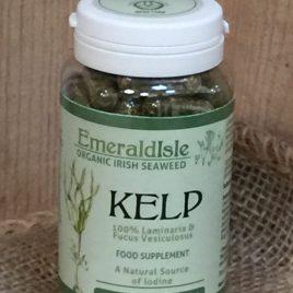 Seaweed kelp capsules