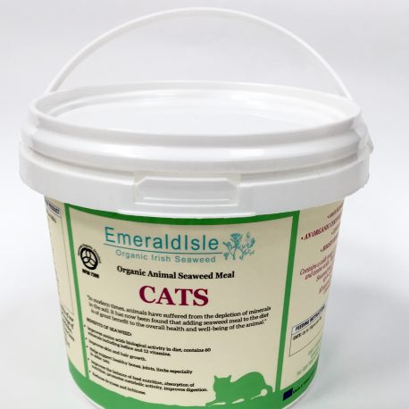 Seaweed for Cats from Emerald Isle seaweed