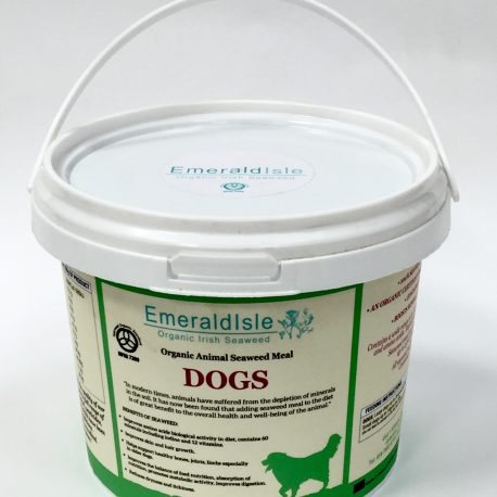 Seaweed for Dogs from Emerald Isle seaweed