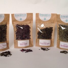 Dulse, Sweet kelp, Kombu, Sea Spaghetti, Bladder wrack Flakes Herbs