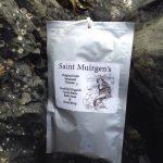 Seaweed bath powder