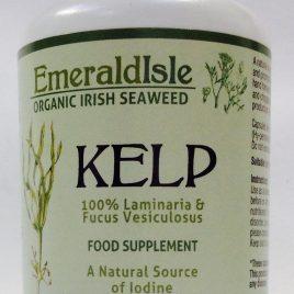 Kelp seaweed capsules